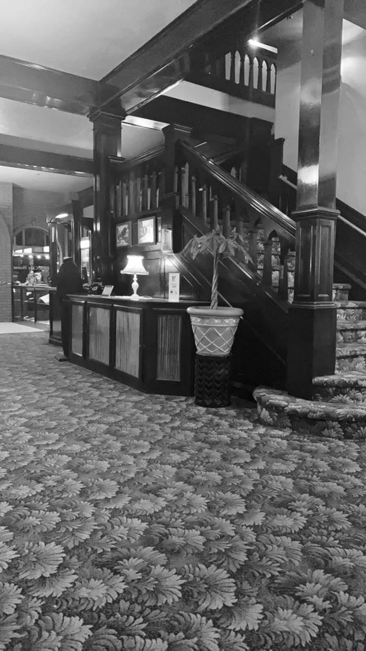 interior haunted hotel