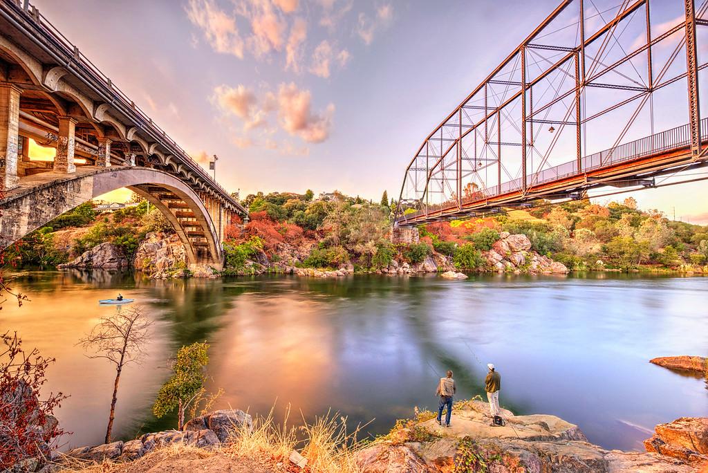 bridge in folsom